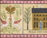 Heart Of The Country Garden Border 7002-B50173 By Brewster Fine Decor